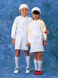学童給食衣(ホワイト)SKV362