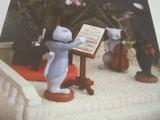 ★DECOLE キャットノワール 猫の音楽マスコット