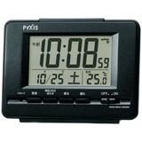 新品!セイコー製ピクシス デジタル電波目ざまし時計 NR535K