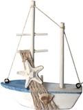 マリンスタイル ウッド帆船ミニオブジェ