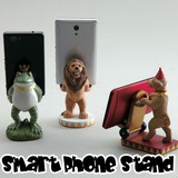 Miscellaneous goods Interior Smartphone Stand Animal Circus Present iPhone Smartphone