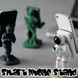 【おしゃれ雑貨 インテリア】スマートフォンスタンド 宇宙飛行士 プレゼント iPhone スマホ