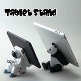 【おしゃれ雑貨 インテリア】タブレットスタンド 宇宙飛行士 パンダ クマ プレゼント iPad
