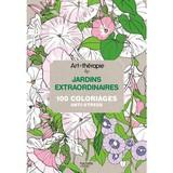 フランスで大人気 大人の塗り絵 【素晴らしい庭 JARDINS EXTRAORDINAIRES100 COLORIAGES】