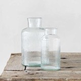 〔ガラス〕リューズガラス フィノライン フラワーベース ボトルネック