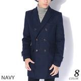 EXCELLENT Casual Men's Coat Wool Double Star