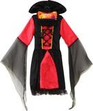【特価品】【在庫限り】【ハロウィン雑貨/装飾品】◆子供用◆コスプレ 衣装 『魔女のお誘い』 コスチューム