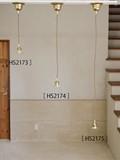 売れ筋【灯具】ペンダント灯具 E26用  BR   シーリングカバー付 3サイズ展開 【タイプ A 】