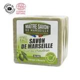 【正規認証取得!120年の歴史を重ねる本物のマルセイユ石鹸】サボン・ド・マルセイユ オリーブ 300g
