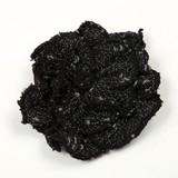 【手芸用品】【アクセサリーパーツ】【ハンドメイド素材】ブラック ニットモチーフ バイカラー