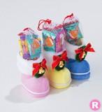 (R) クリスマス/カラフルブーツ