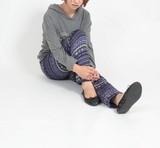 【日本製】フリースパンツ・フェアアイル【あったか裏起毛】【ゆったり】
