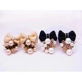 日本製【jewelry ribbon】ジュエリーリボン イヤリング zoule定番商品