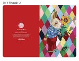 【ナタリーレテ 】  Greeting Card  01 Thank U