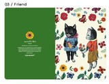 【ナタリーレテ 】  Greeting Card  03 Friend