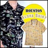 【2016年 春夏新作】【HOUSTON】アロハシャツ(半袖シャツ)