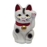 12cm《日本製》招き猫 開運、招福 運気上昇、商売繁盛、招き猫貯金箱