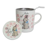 【Flower Rabbit】ハーブマグカップ (フラワーラビット)