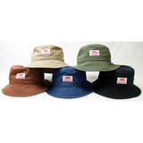 NEW WASHED TWILL BUCKET HAT