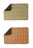 「アーガイル」リバーシブルブランケット 2色アソート / フリース 毛布 あったかい アーガイル柄