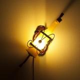 アトリエグラス ウォールランプ ワインボトル【 LED電球付属】 【インテリア】