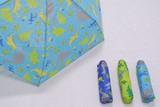 【男児用軽量ミニ折傘】きょうりゅう
