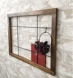 【飾り窓】ガラス/ウッド/ワイヤーウィンドウ 7種