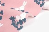 【生地】【布】【コットン】Clover and rabbit - clover and rabbit キャンバス生地 デザインファブリック