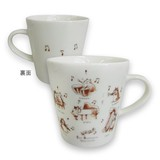 Cat Mug Cat Chips Orchestra