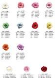 敬老の日 大特価【プリザーブドフラワー 花材】ローズ オリジナル 各色 各サイズ