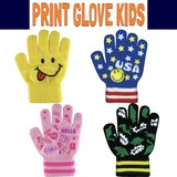 NEW!! 【キッズ】プリントグローブ * 秋冬物!子供用のカラフルな手袋です♪