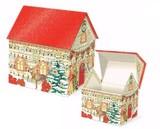 Punch Studio クリスマス ハウスオルゴールBOX <ツリー>