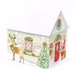 Punch Studio クリスマス ハウスオルゴールBOX <サンタ>