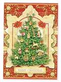 PUNCH STUDIO  クリスマスカード 3Dレイヤー ツリー