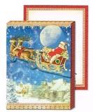 パンチスタジオ クリスマス向き ポケットノートパッド <サンタ>