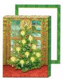 パンチスタジオ クリスマス向き ポケットノートパッド <ツリー>