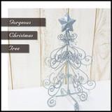 ◆在庫処分◆姫系 アイアン クリスマスツリー 23cm