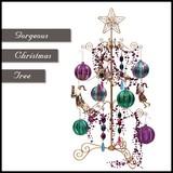 ◆在庫処分◆ゴージャスワイヤー クリスマスツリー