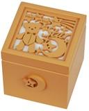 【 木製Aメロディボックス(クマ) 】 ♪星に願いを
