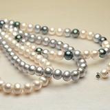 大粒淡水真珠 パール2点セット  約10.0-11.0mm