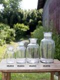 【ガラスボトル】ワイドボトル