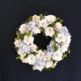<<クリスマスリース>>★■X'mas/  ★Wooden Roll & Vine Wreath (White)