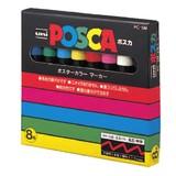 【(uni)三菱鉛筆】ポスカ PC−5M 8色/ポスカ