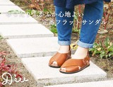 Linen Closs Leather Sandal Repeat Rate