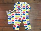 ゾウのパレード  パジャマ bajasmile