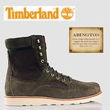 【SALE】TIMBERLAND (ABINGTON) スウェード ワークブーツ 6インチ Olive (6013R)【ティンバーランド】