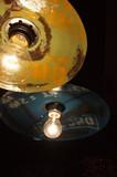 [新生活] 廃材を使用したランプシェードのみ【照明】1灯ペンダントライト用