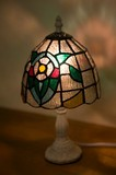 ティファニーテーブルランプ フラワー【ステンドグラス】【インテリア】【照明】