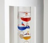 【Fun Science】ガラスフロート温度計S ホワイト