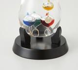 【Fun Science】ガラスフロート温度計 しずくS base